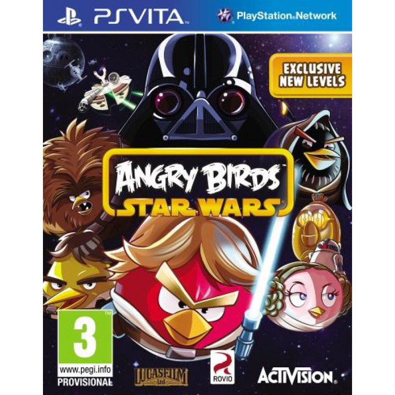 image du jeu Angry Birds : Star Wars sur PS VITA