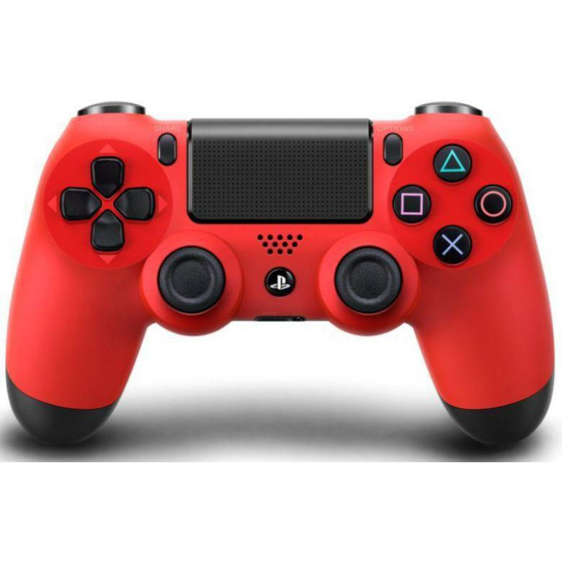 image du jeu Manette Dualshock 4 Rouge sur PS4