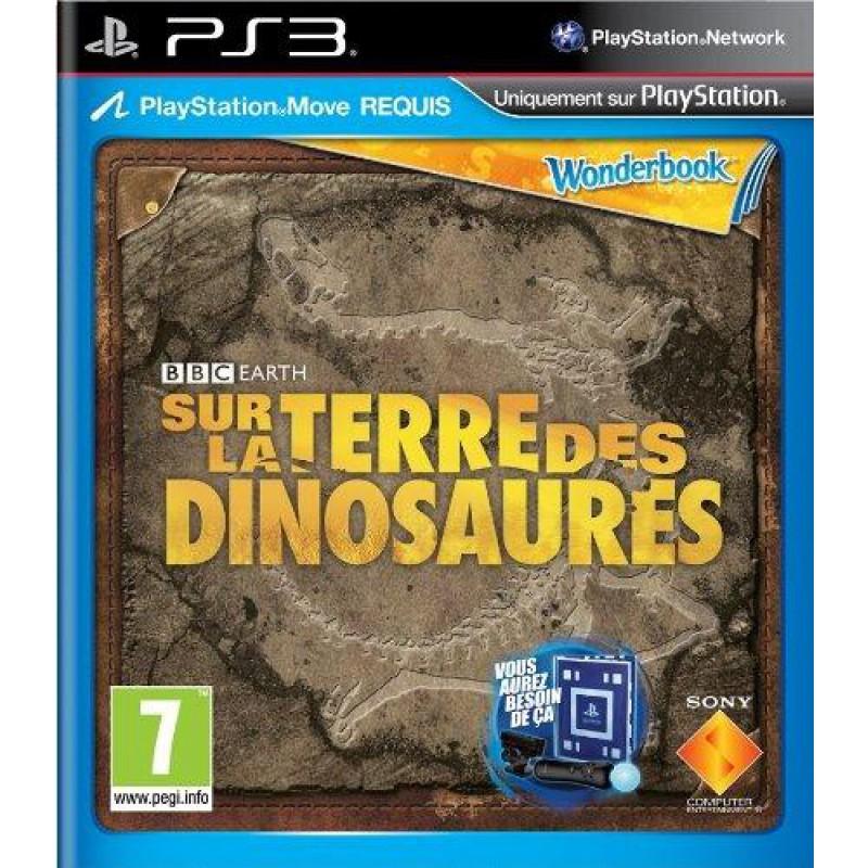 image du jeu Sur La Terre Des Dinosaures + Wonderbook (move) sur PS3