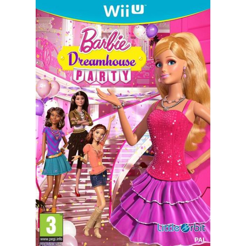 image du jeu Barbie Dreamhouse Party sur WII U