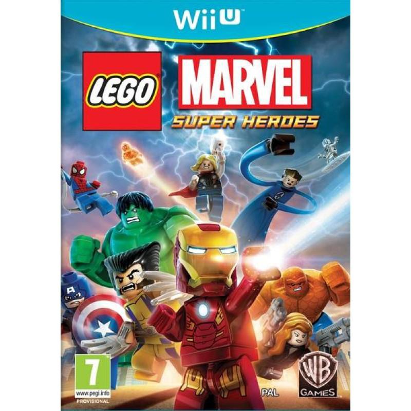 image du jeu Lego Marvel Super Heroes sur WII U