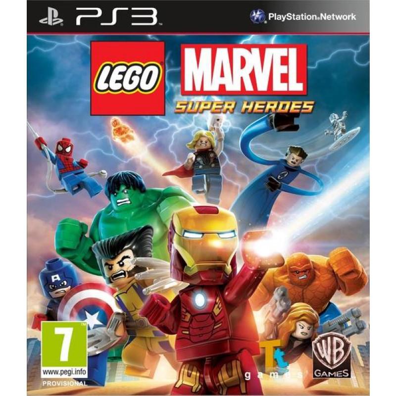 image du jeu Lego Marvel Super Heroes sur PS3