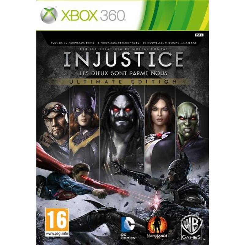image du jeu Injustice : Les Dieux Sont Parmis Nous Ultimate Edition sur XBOX 360