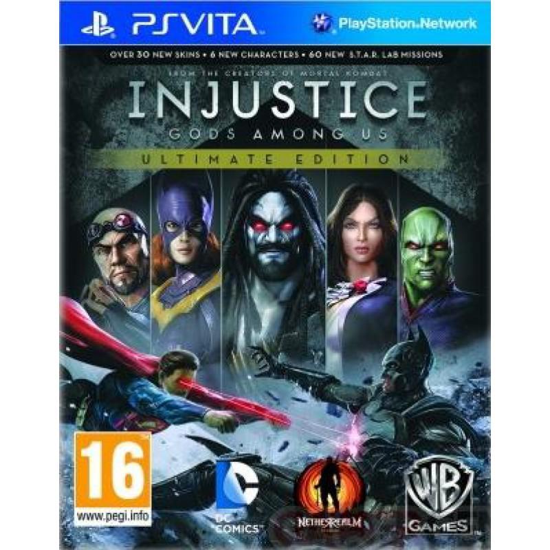 image du jeu Injustice : Les Dieux Sont Parmi Nous Ultimate Edition sur PS VITA