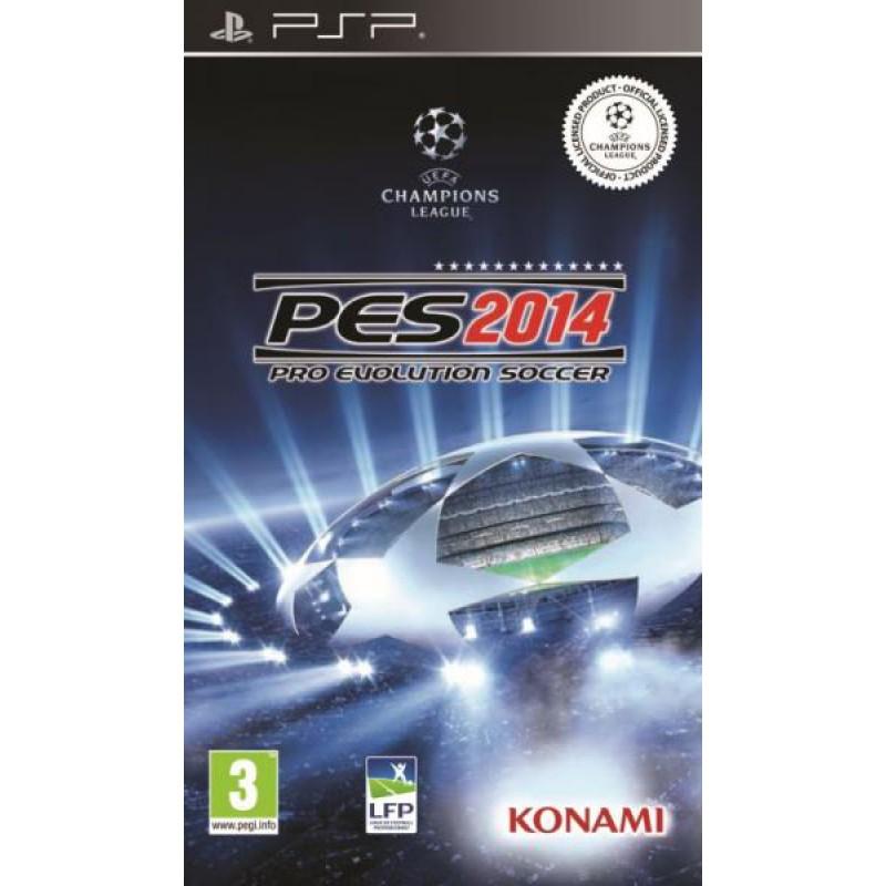 image du jeu Pro Evolution Soccer 2014 (pes 2014) sur PSP