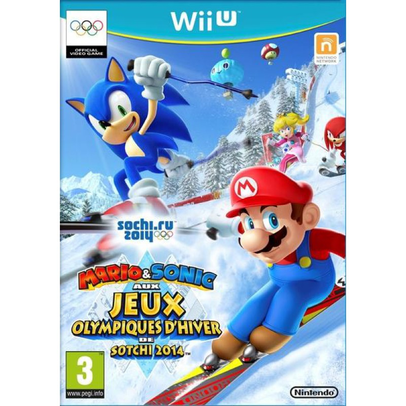 image du jeu Mario & Sonic Aux Jeux Olympiques D'hiver De Sotchi 2014 sur WII U