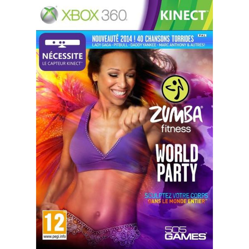 image du jeu Zumba Fitness World Party sur XBOX 360