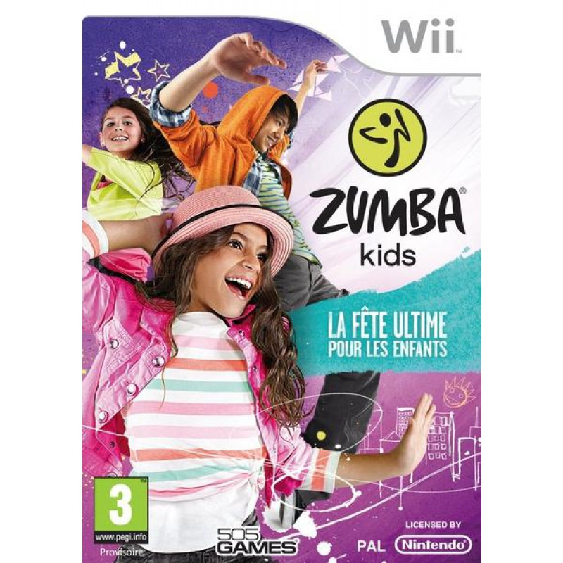 image du jeu Zumba Kids sur WII