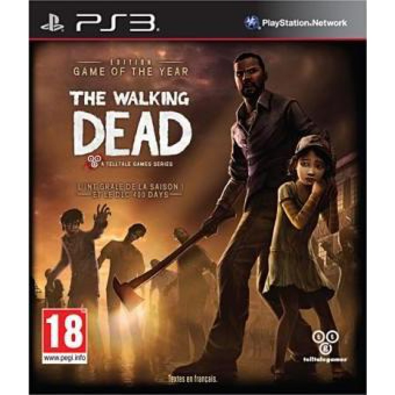 image du jeu The Walking Dead Edition Game Of The Year sur PS3