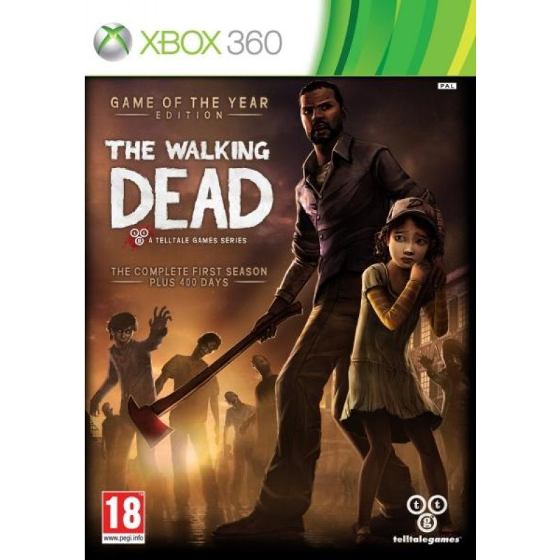 image du jeu The Walking Dead Edition Game Of The Year sur XBOX 360