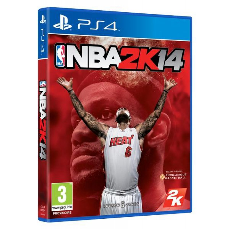 image du jeu NBA 2k14 sur PS4