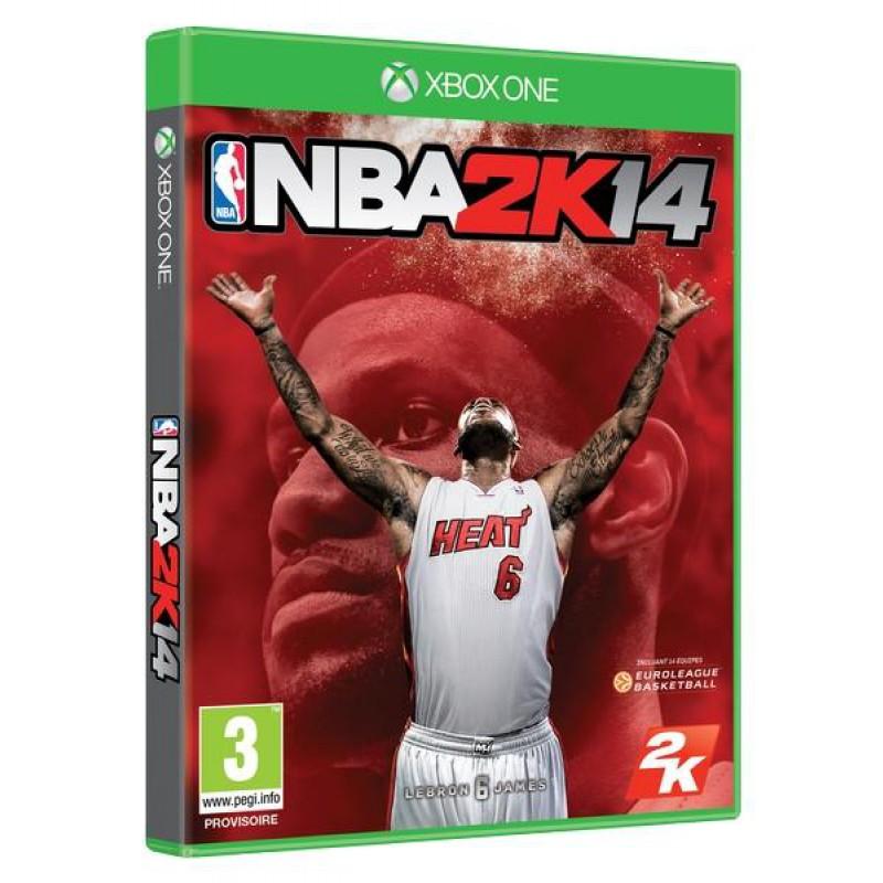 image du jeu NBA 2k14 sur XBOX ONE