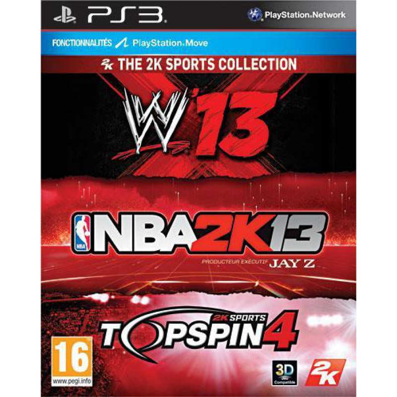 image du jeu The 2k Sports Collection sur PS3