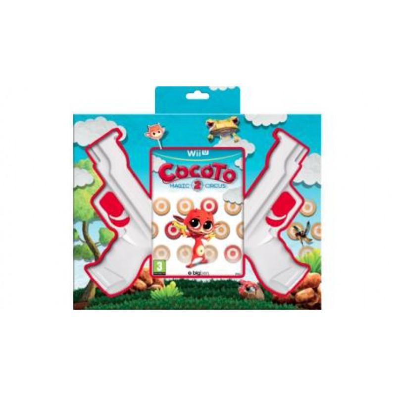 image du jeu Cocoto Magic Circus 2 + 2 Guns sur WII U