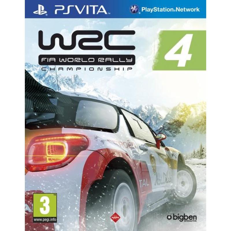 image du jeu Wrc 4 Fia World Rally Championship sur PS VITA