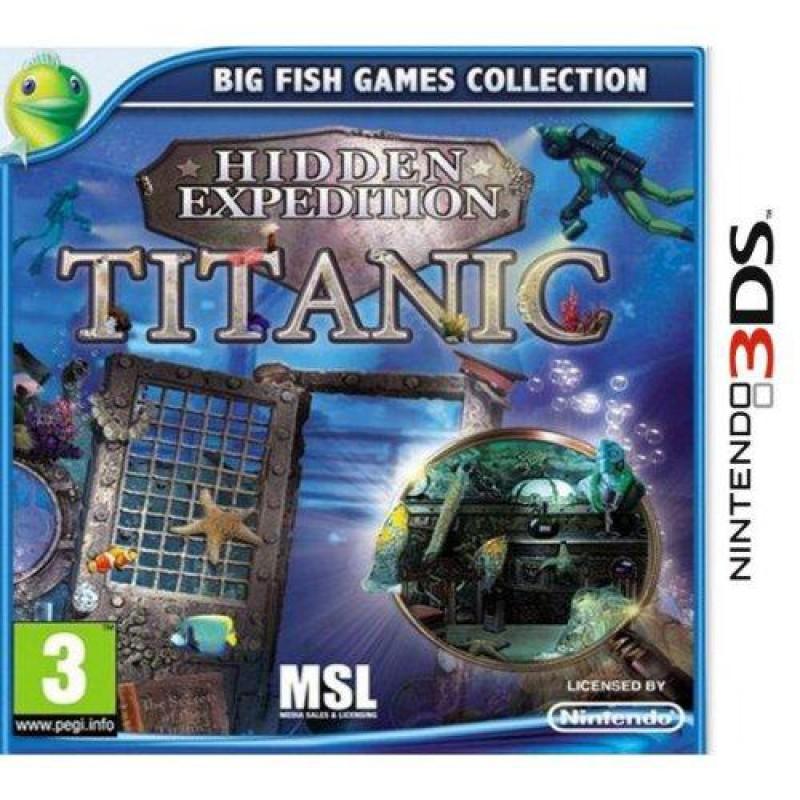 image du jeu Hidden Expédition Titanic sur 3DS