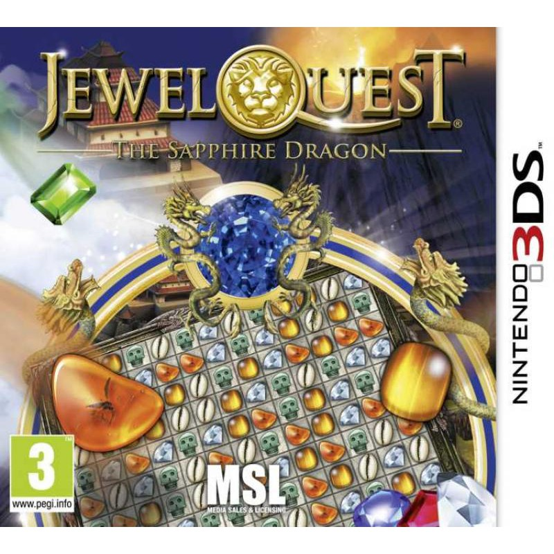image du jeu Jewel Quest 6 : The Sapphire Dragon sur 3DS