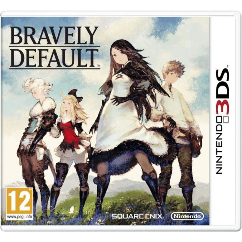 image du jeu Bravely Default sur 3DS
