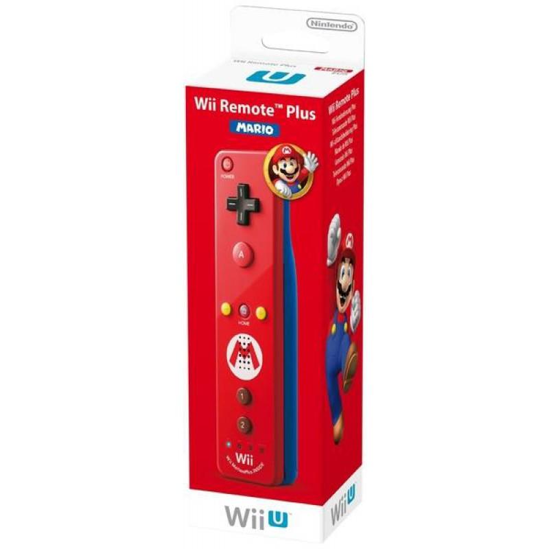 image du jeu Telecommande Wii U Plus Mario Rouge sur WII U