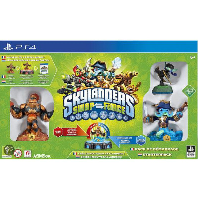 image du jeu Pack De Démarrage Skylanders Swap Force sur PS4