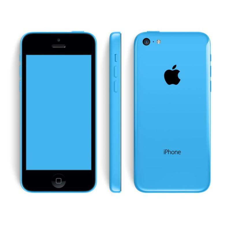 image du jeu Pack+ iPhone 5C 32Go Bleu Orange sur SMARTPHONE