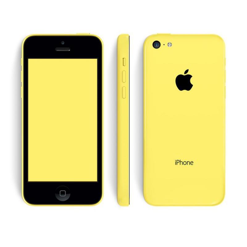 image du jeu Iphone 5c 32go Jaune Sfr sur SMARTPHONE