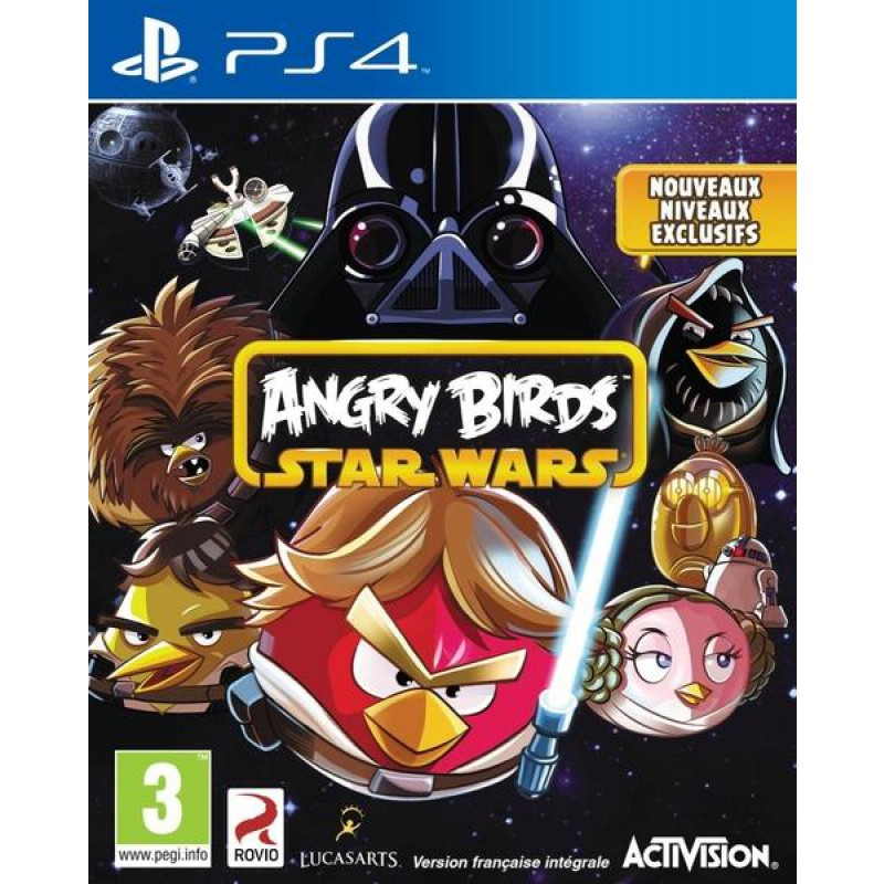 image du jeu Angry Birds : Star Wars sur PS4