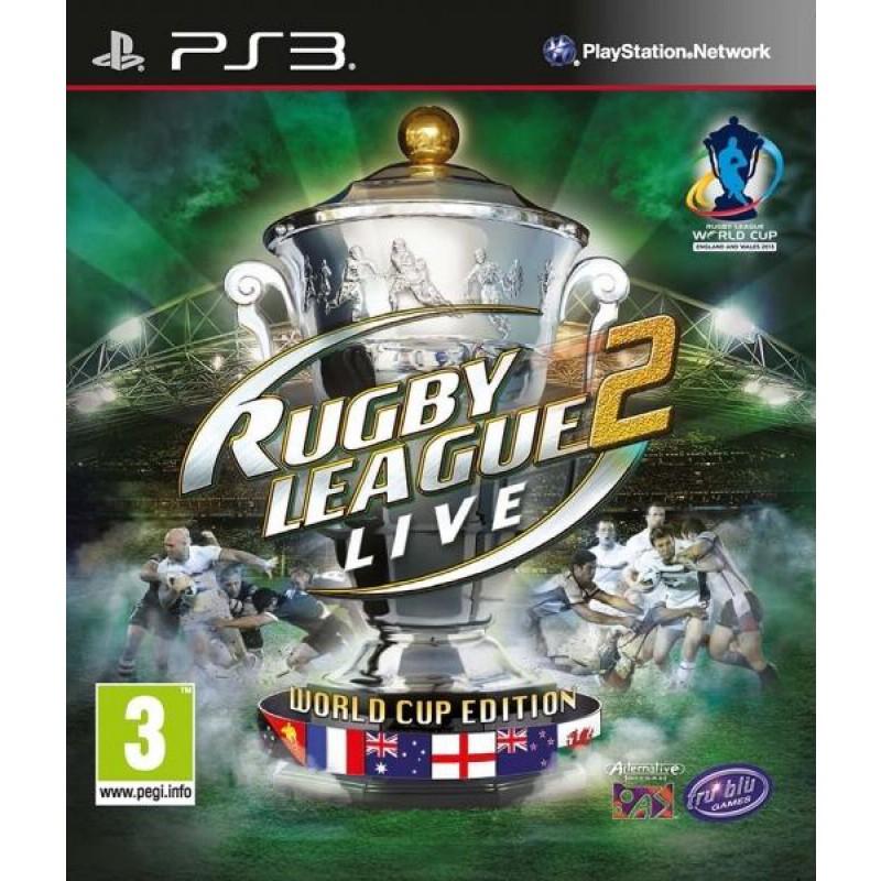 image du jeu Rugby League Live 2 World Cup Edition sur PS3
