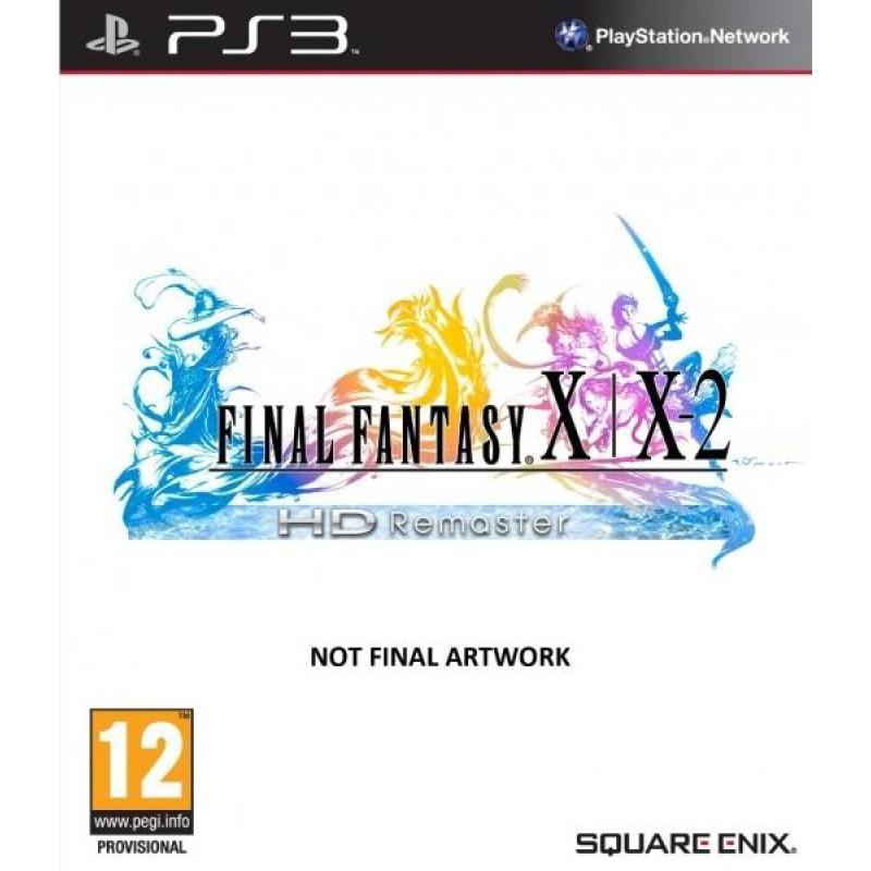 image du jeu Final Fantasy X / X-2 HD Remaster sur PS3