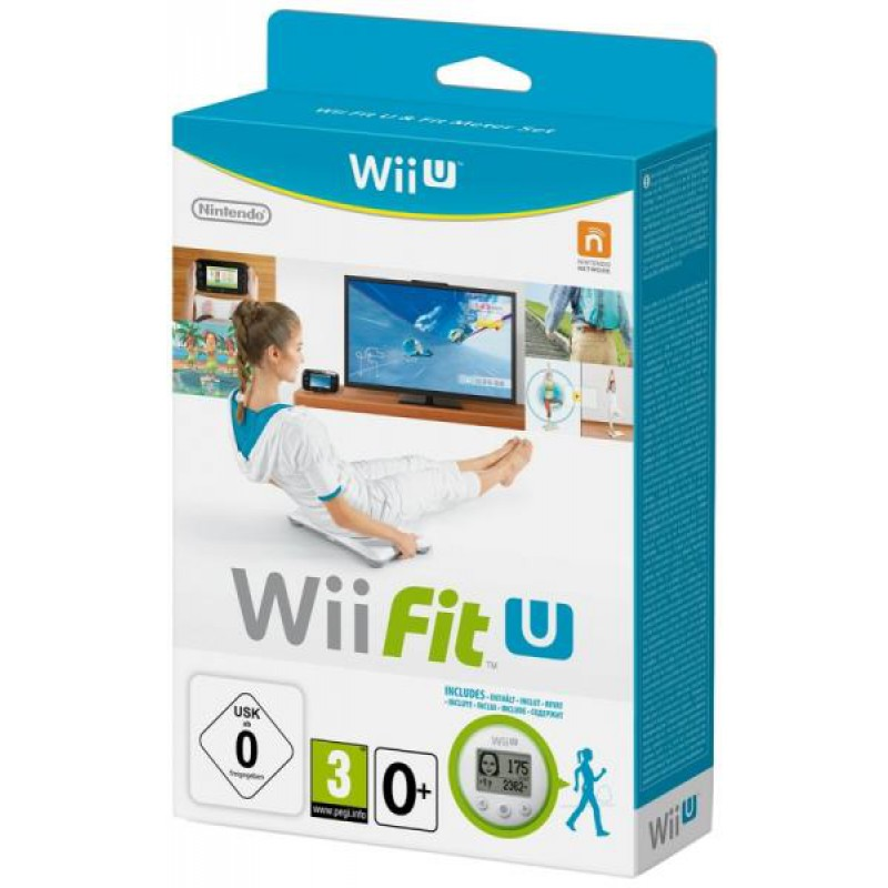 image du jeu Wii Fit U + Wii Fit Meter sur WII U