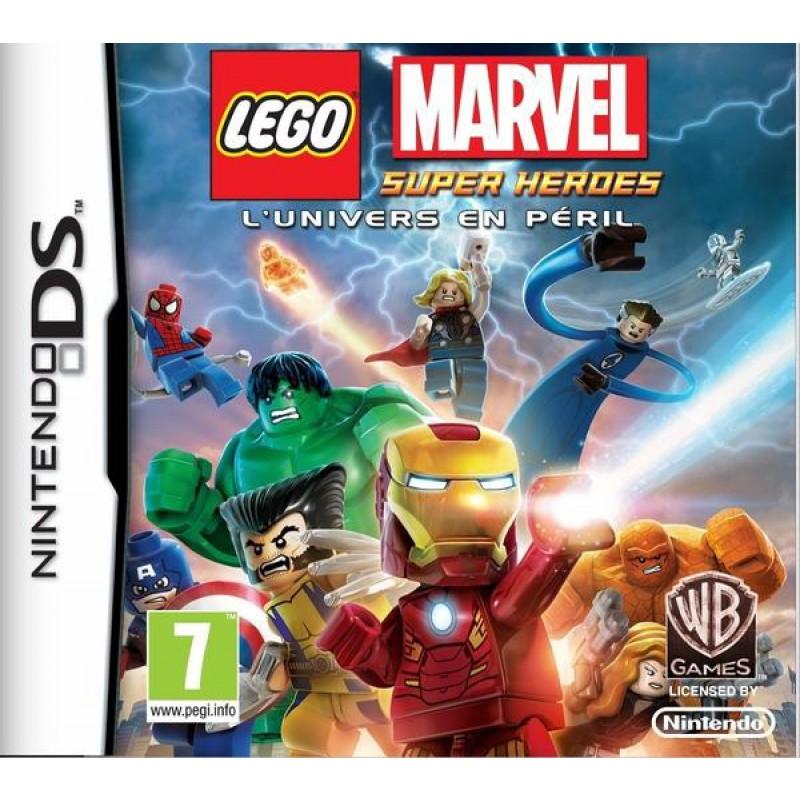 image du jeu Lego Marvel Super Heroes sur DS