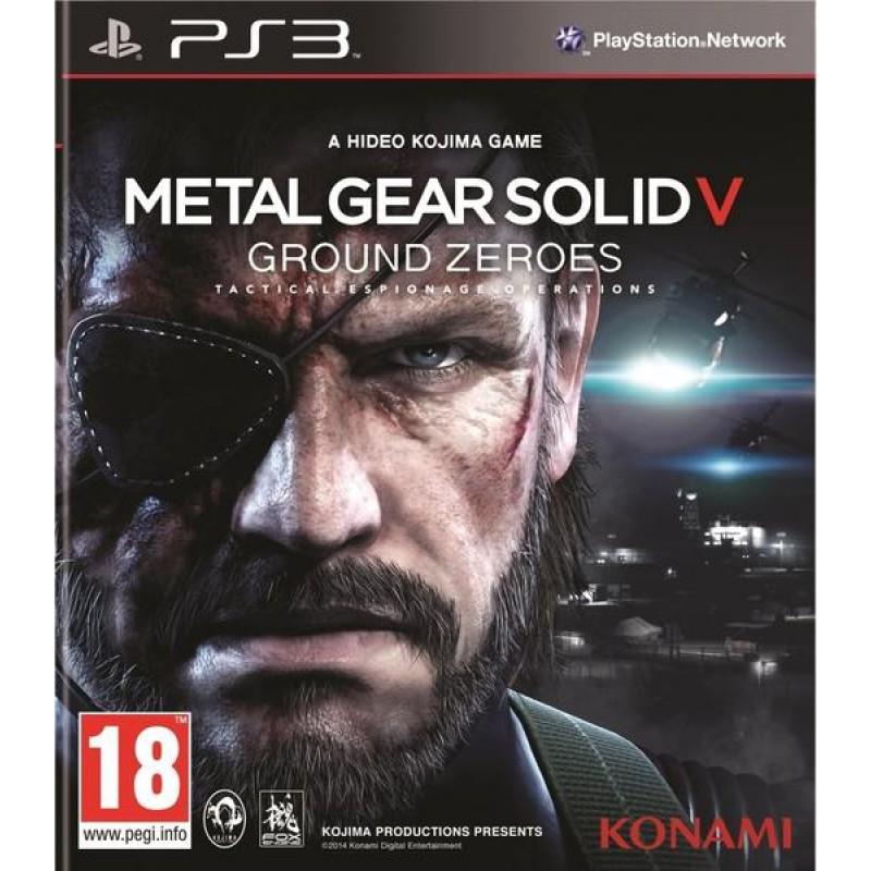 image du jeu Metal Gear Solid V : Ground Zeroes sur PS3