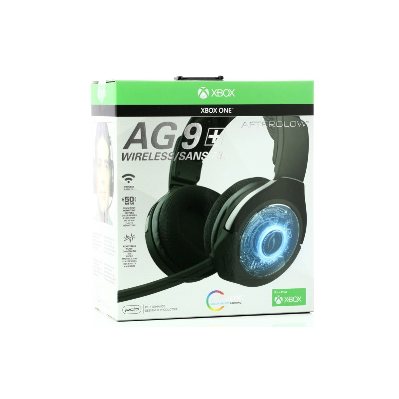 Casque Sans Fil Stereo Afterglow Prismatic Ag9 Xboxone