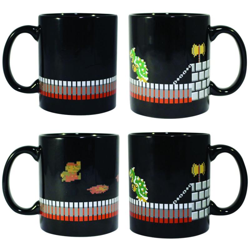 image du jeu Mug - Mario - Mario et Bowser Heat Change sur AUTRES