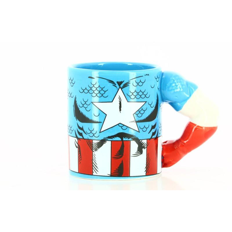 image du jeu Mug Mata - Marvel - Captain America sur AUTRES