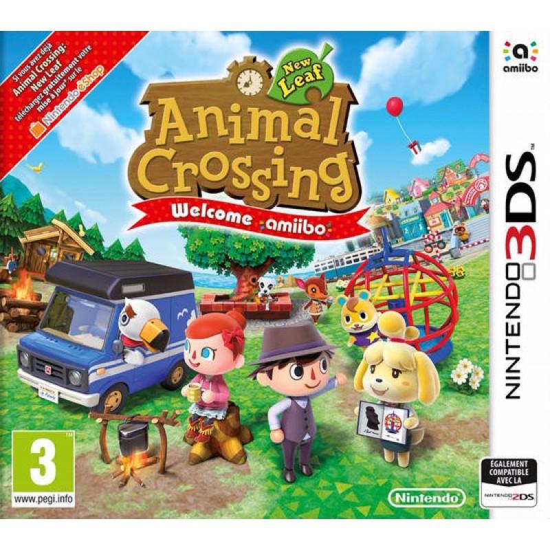 image du jeu Animal Crossing : New Leaf sur 3DS