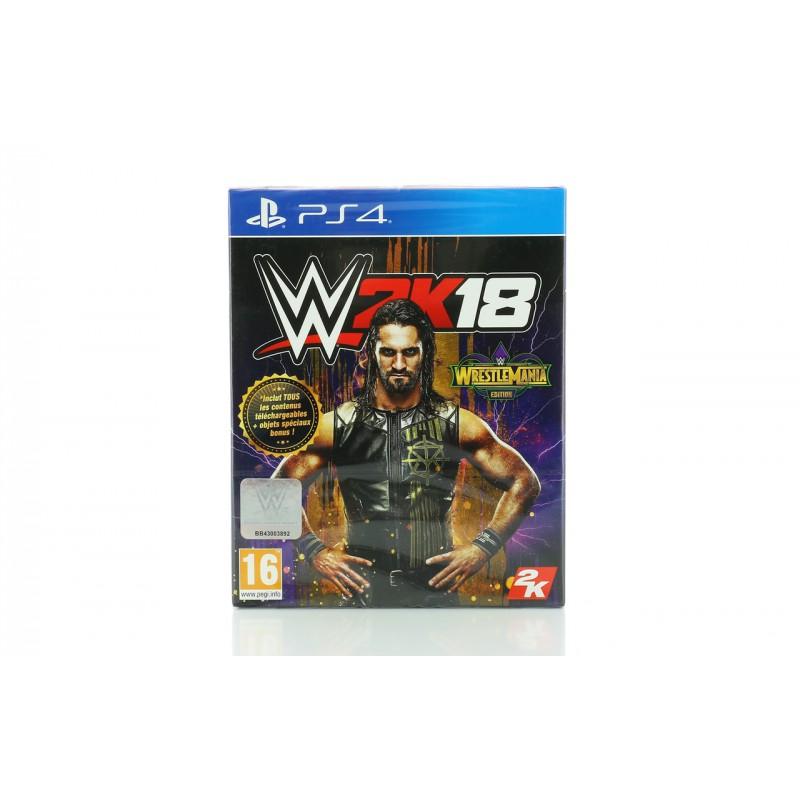 image du jeu Wwe 2k18 Edition Wrestlemania sur PS4