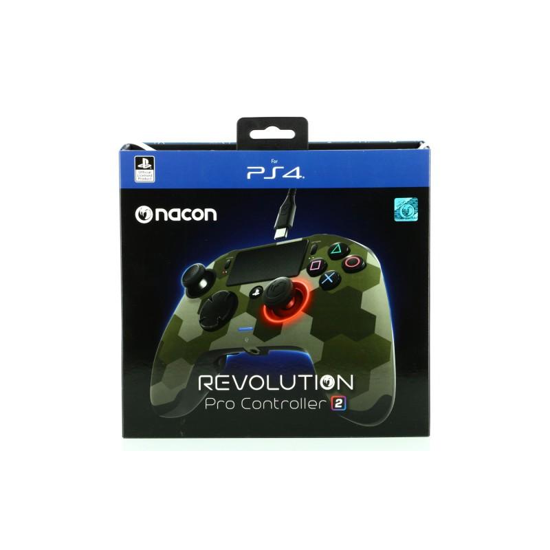 image du jeu Manette Officielle Nacon Revolution 2 camo vert - Exclusivité Micromania-Zing sur PS4
