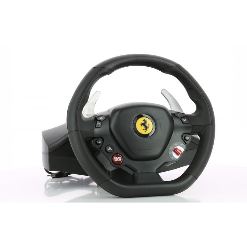 image du jeu Volant + Pédalier Thrustmaster T80 Ferrari 488 Gtb Edition sur PS4