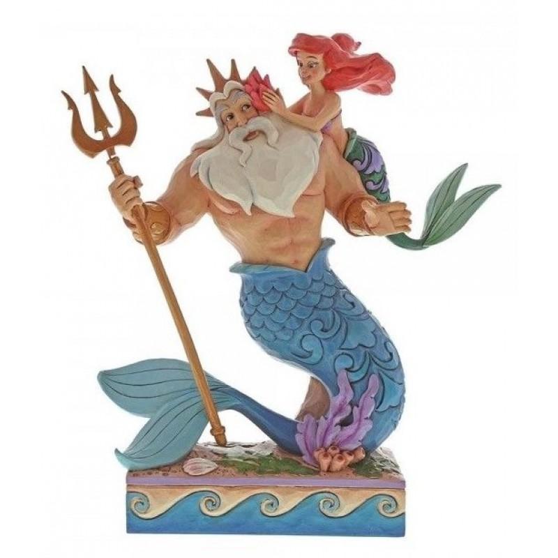 image du jeu Figurine Disney Tradition - La Petite Sirène - Ariel et Triton 25 cm sur AUTRES
