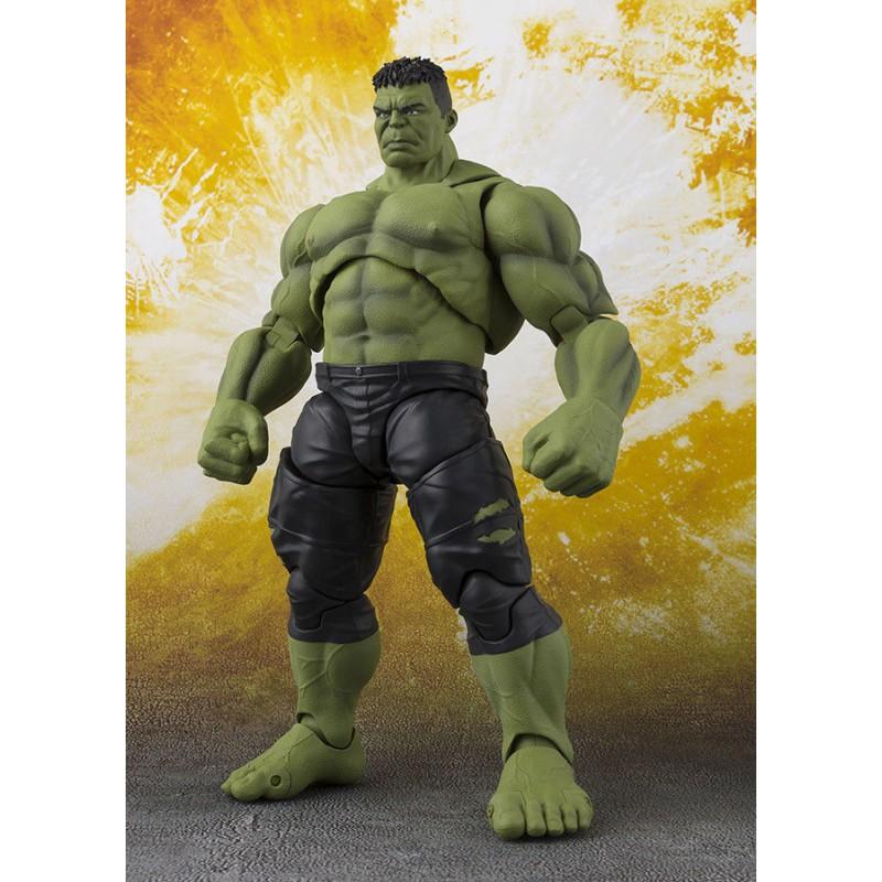 image du jeu Figurine SH Figuarts - Avengers : Infinity War - Hulk sur AUTRES