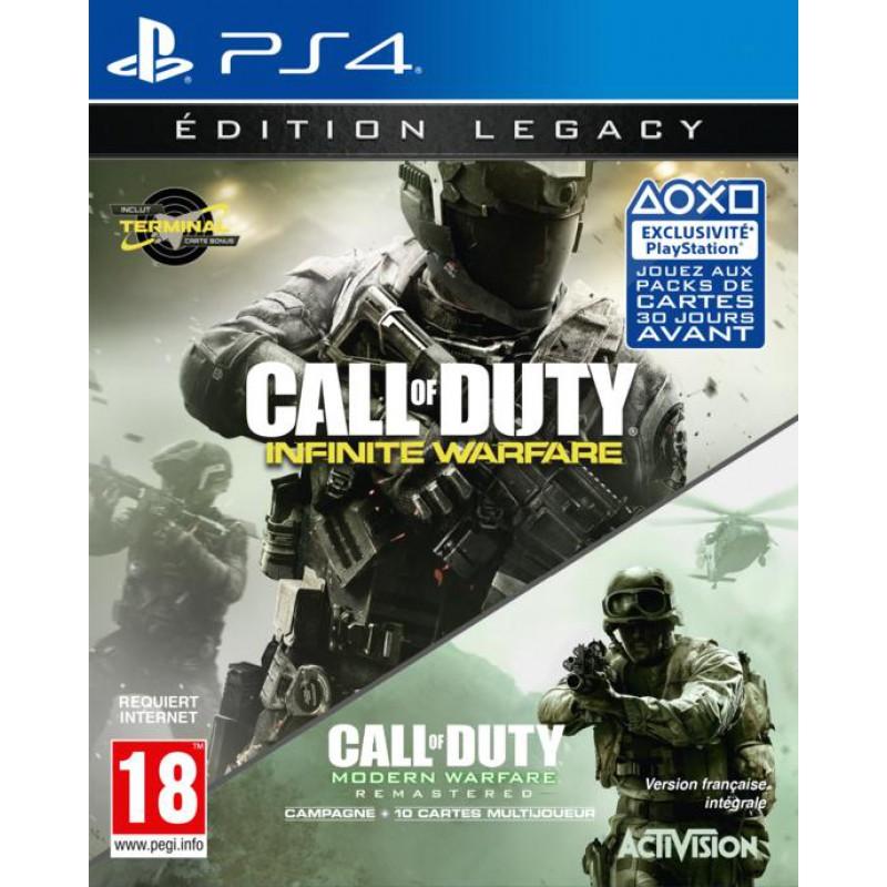 image du jeu Call of Duty : Infinite Warfare Edition Legacy sur PS4