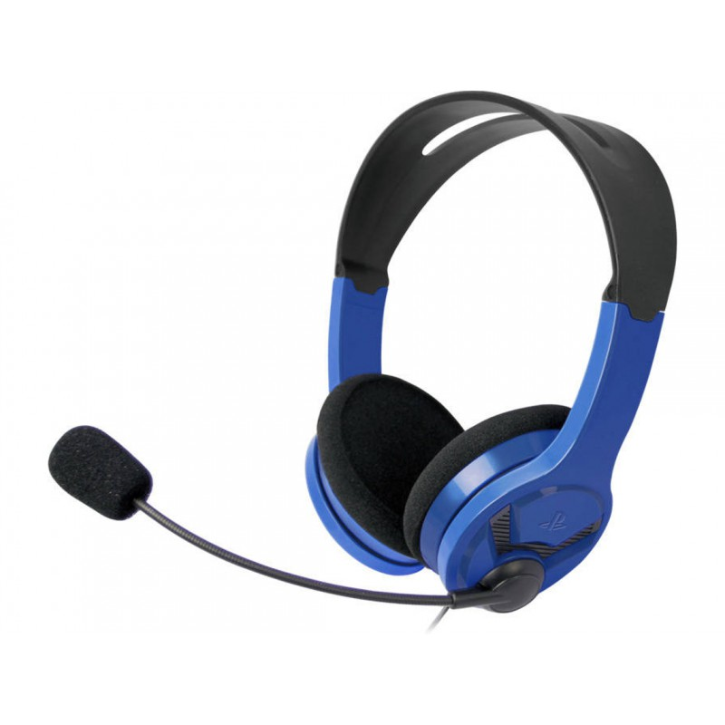 Play Casque Filaire Bleu Officiel Ps4 Ps4