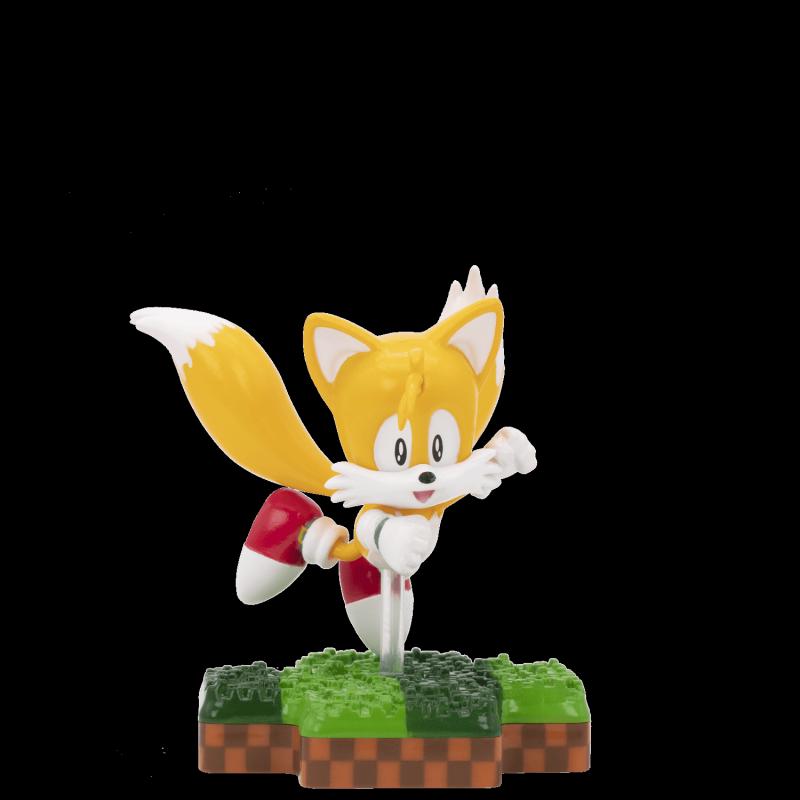 image du jeu Figurine Totaku N°21 - Sonic - Tails - Exclusivité Micromania-Zing sur AUTRES