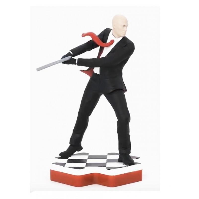 image du jeu Figurine Totaku N°36 - Hitman - Agent 47 - Exclusivité Micromania-Zing sur AUTRES