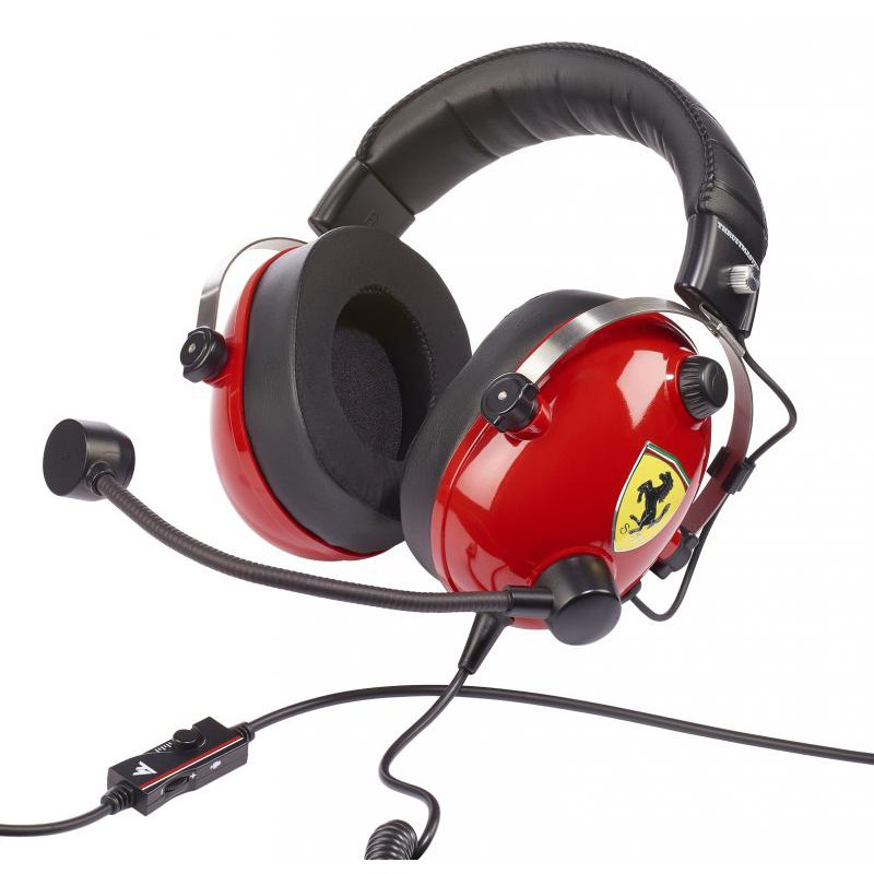 Casque Gaming Thrustmaster Tracing Scuderia Ferrari Edition Pc