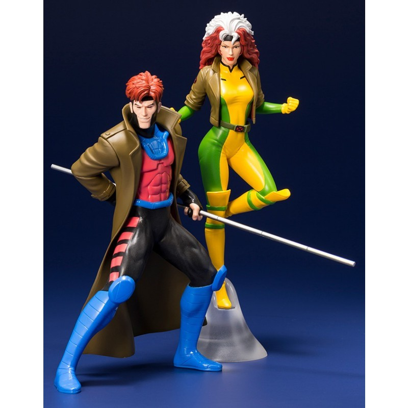 image du jeu Statuette Kotobukiya ArtFX - X-Men - Gambit et Malicia sur AUTRES
