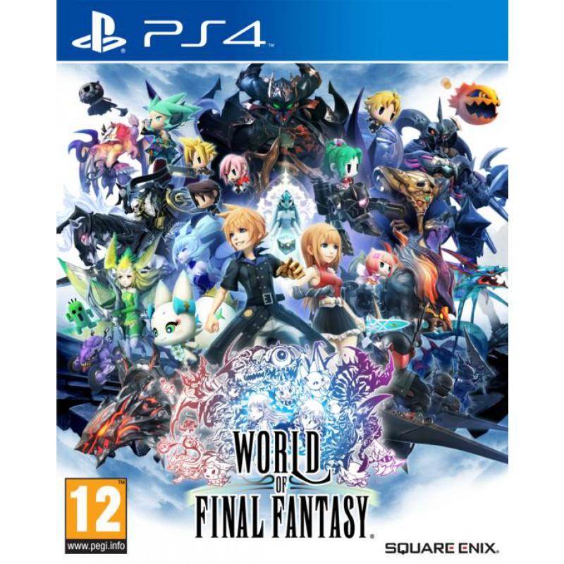 image du jeu World of Final Fantasy sur PS4