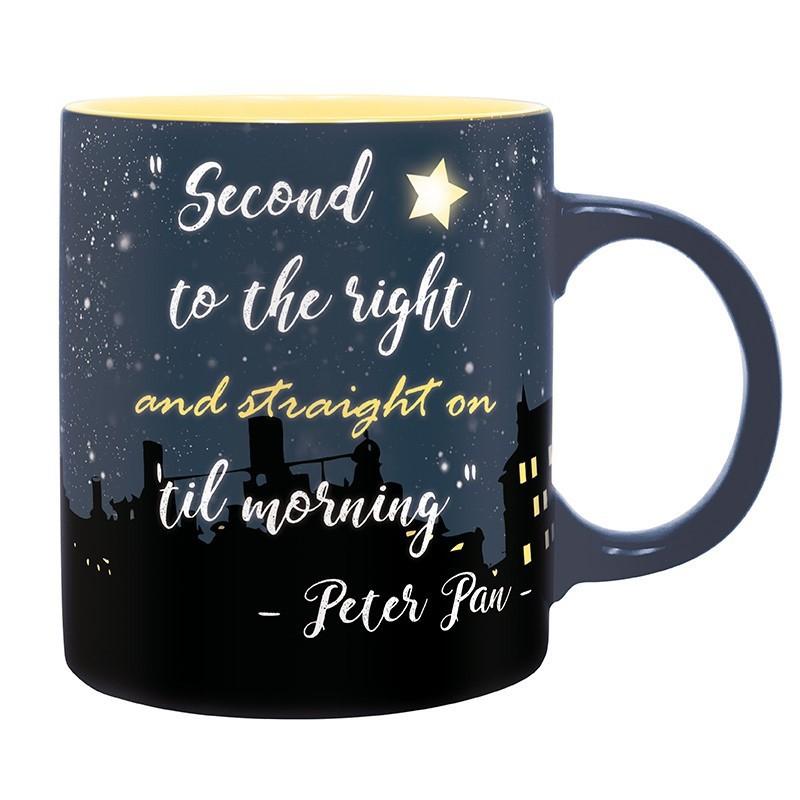 image du jeu Mug - Peter Pan - Deuxième étoile à droite 320 ml sur AUTRES