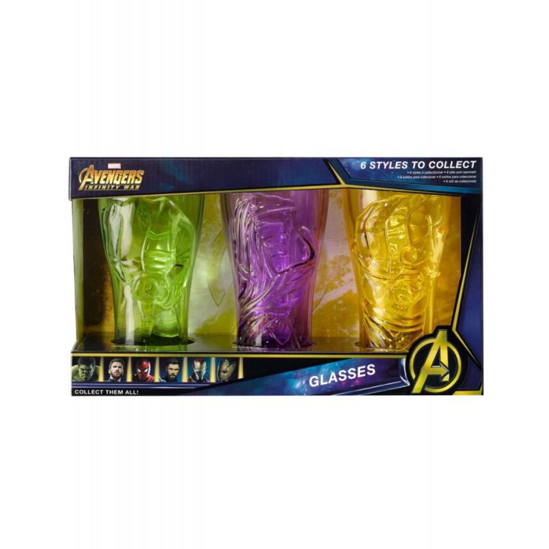 image du jeu Verre - Avengers Infinity War - Set de 3 Pierres A sur AUTRES